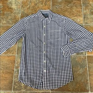 American Rag Men's Black White Checkered Shirt